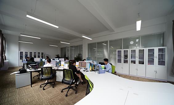 上海哲华办公室全景