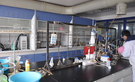 上海哲华化工材料有限公司三号实验室