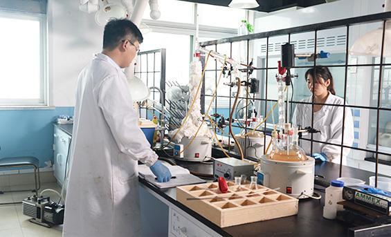 上海哲华化工材料有限公司实验区