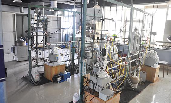 上海哲华化工材料有限公司实验室内景